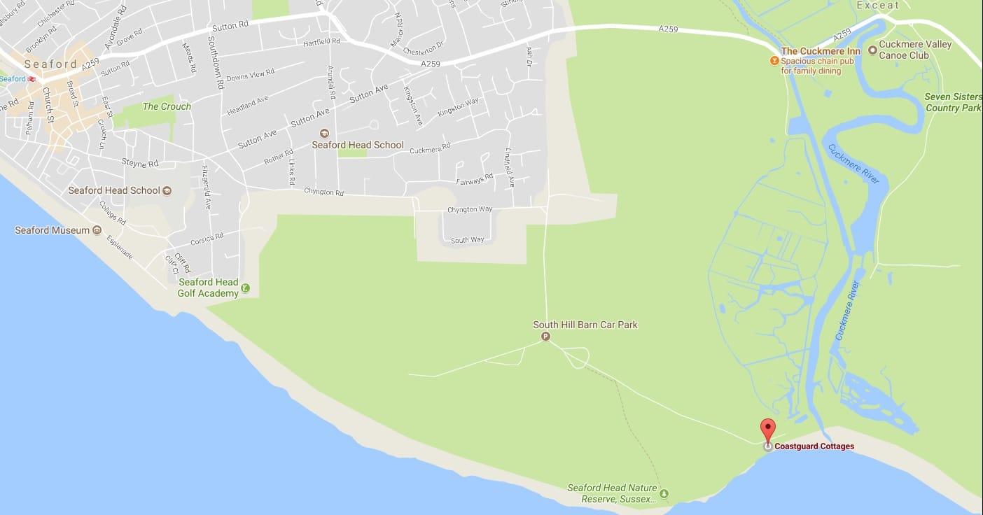 seaford map